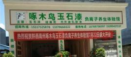 热烈祝贺黔西南州啄木鸟玉石漆负离子养生体验馆盛大开业